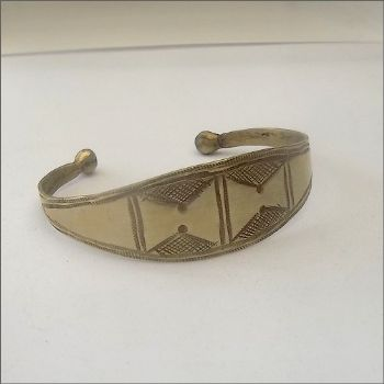 Decorated Silver Cuff
